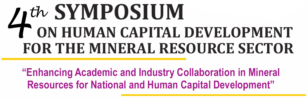 4th Symposium on Human Capital Development for the Mineral Resource Sector